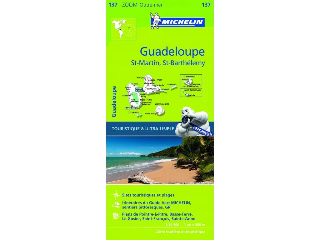 MK 137 Guadeloupe,St.Martin../mapa 1:80t