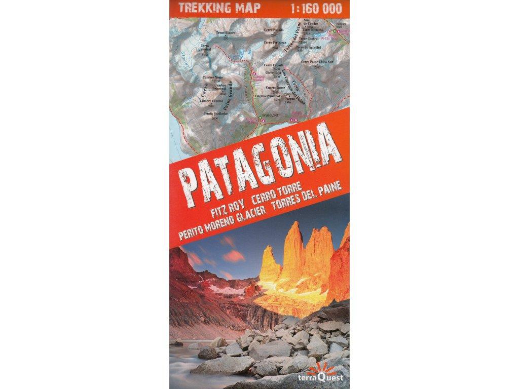 Patagonia/trekking map 1:160t TQ
