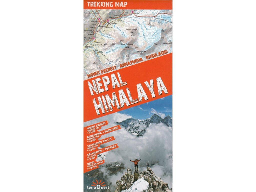 Nepál Himalaja/trekking map 1:50-150t TQ