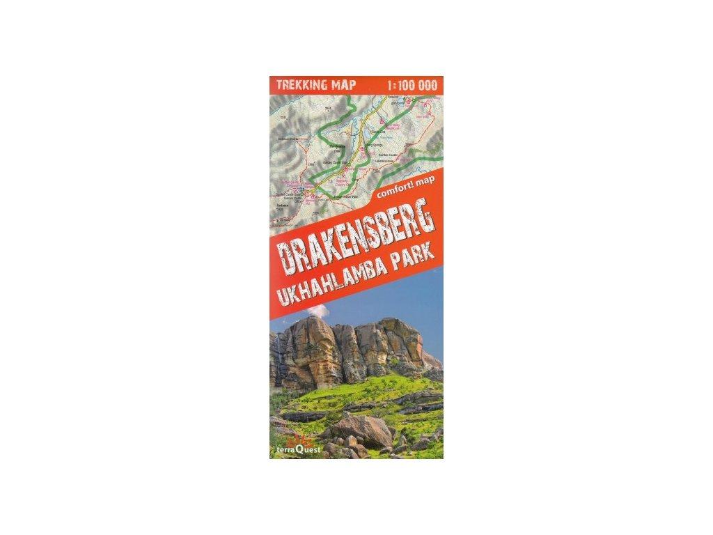 Drakensberg /lamino mapa 1:100t TQ