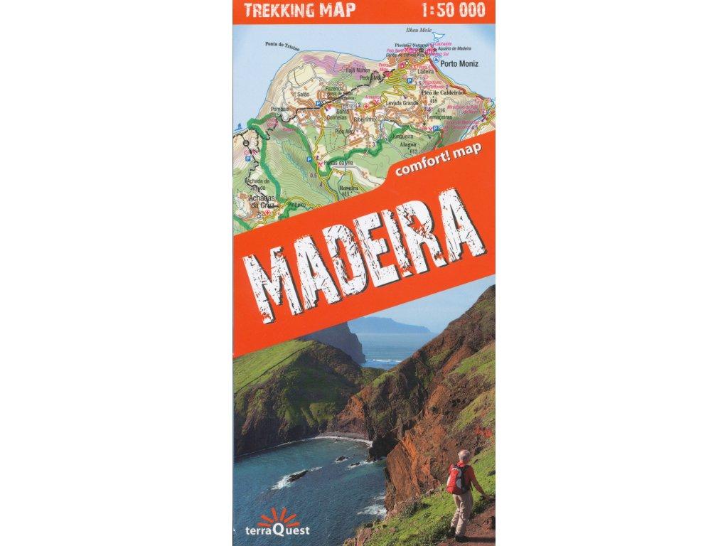 Madeira /trek.mapa lamino 1:50t TQ