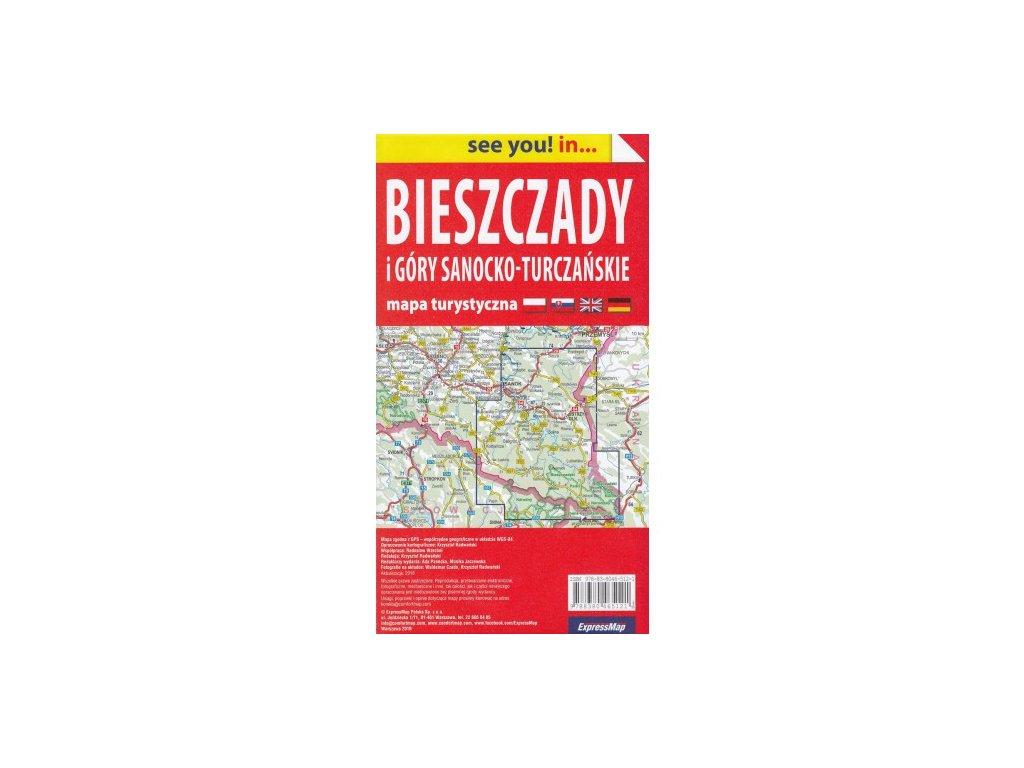 Bieszczady / tur.mapa 1:65t