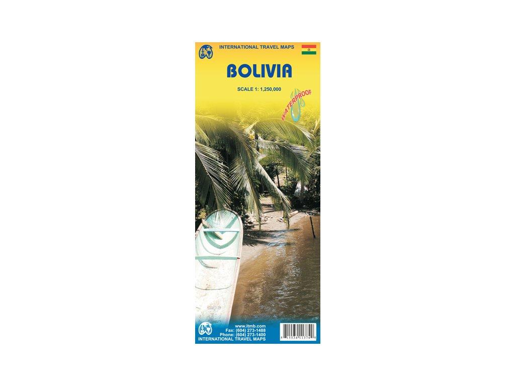 Bolivie / mapa 1:1,25M ITM