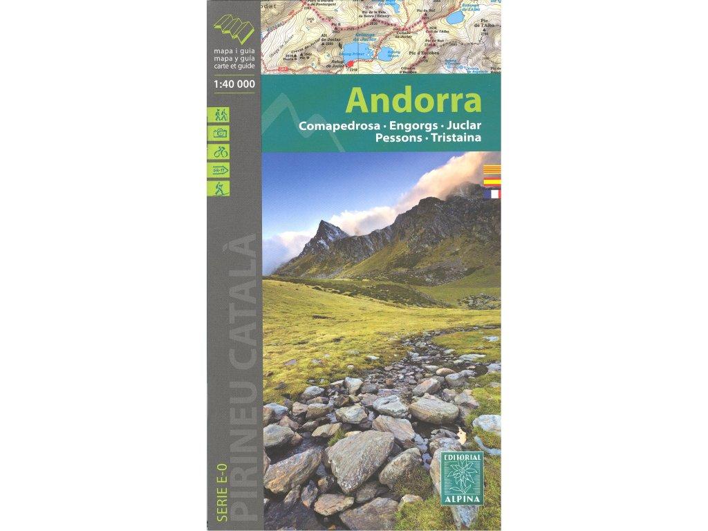 Andorra /mapa 1:30t ALPINA