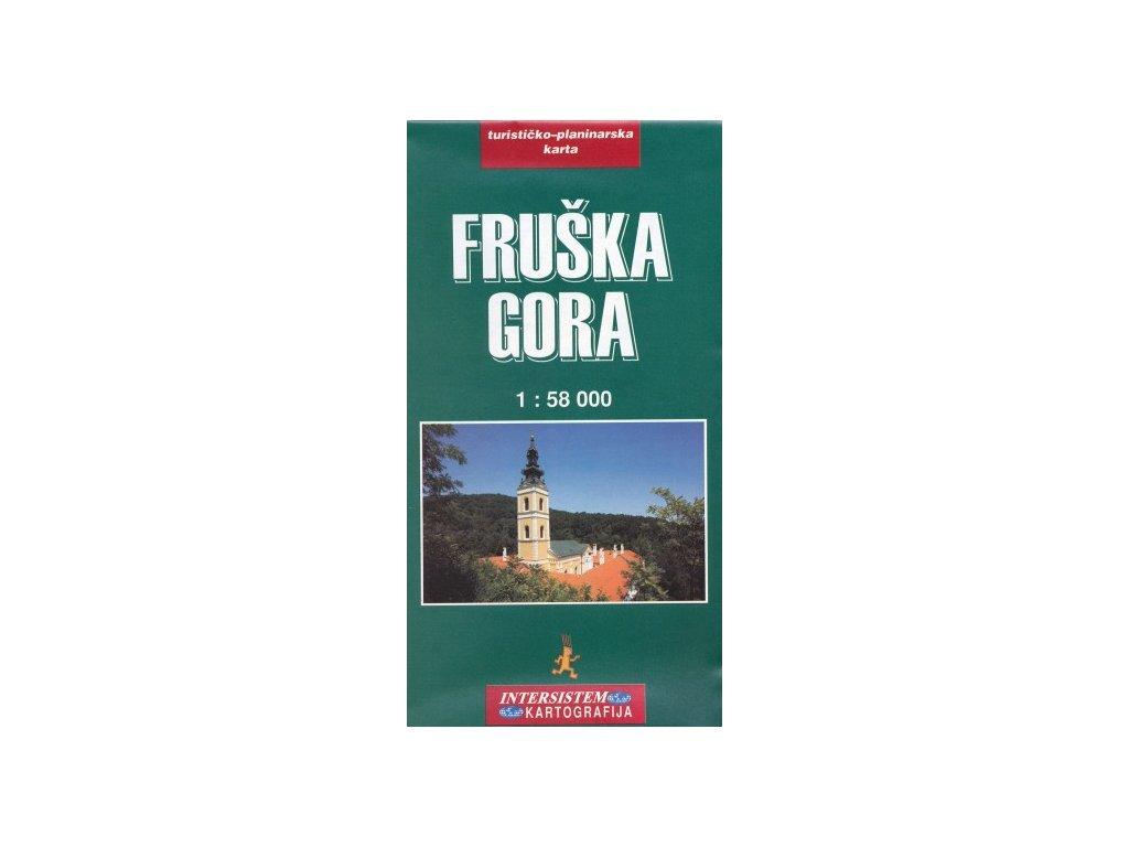 Fruška Gora/tur.mapa 1:58t InterSistem