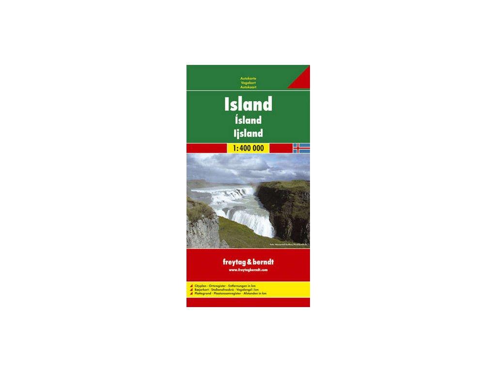 Island / mapa 1:400t FB