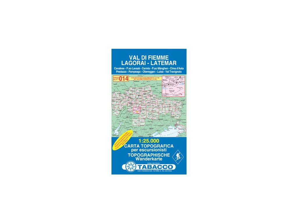 TA014 Val di Fiemme, Lagorai,....