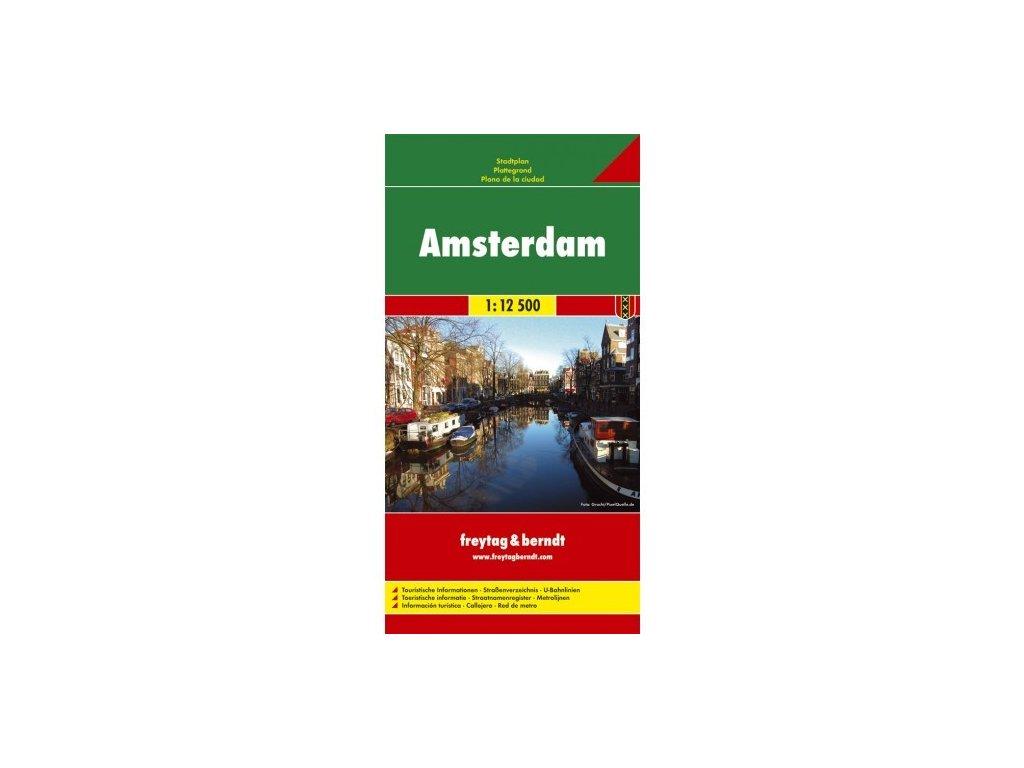Amsterdam FB plán, mapa