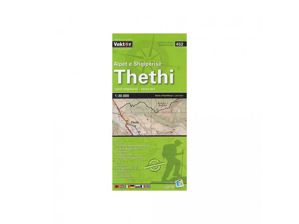 Theti(albánie)/tur.mapa 1:30t