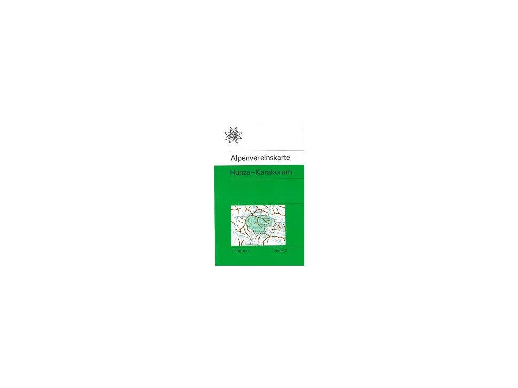 AV0/12 Hunza Karakorum 1:100t