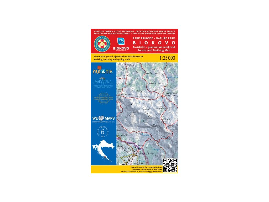 Biokovo PP/t.mapa 1:25t HGSS