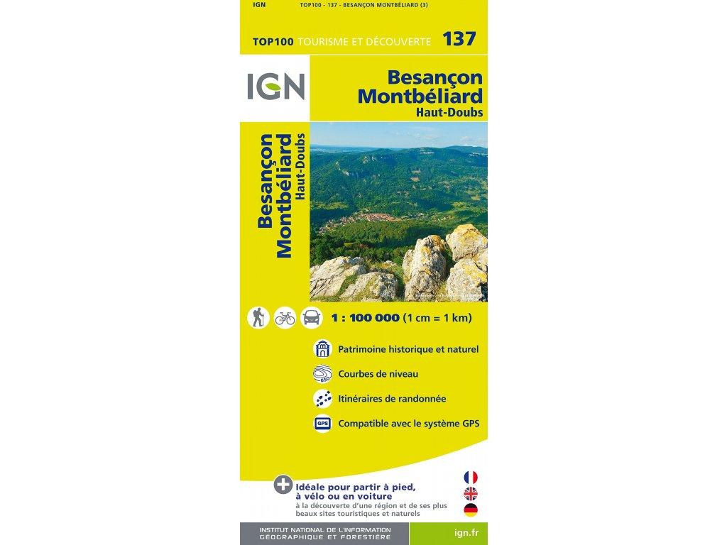IGN 137 Besancon, Montbeliard