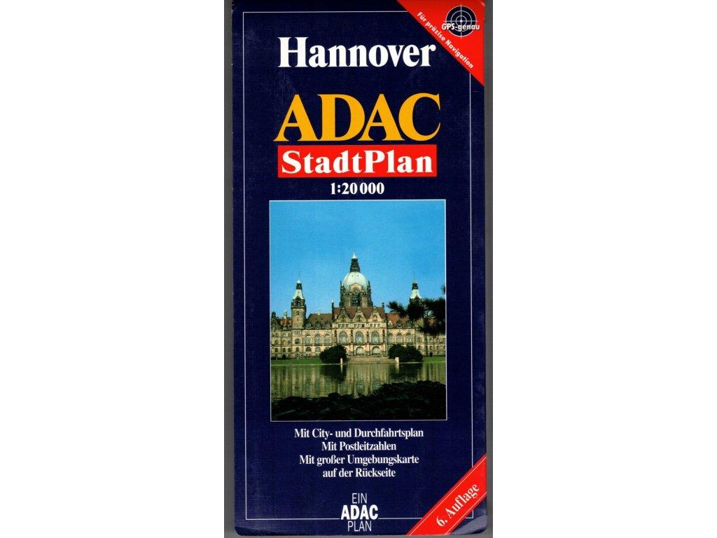 Hannover /stadtplan, mapa  ADAC 1:20t