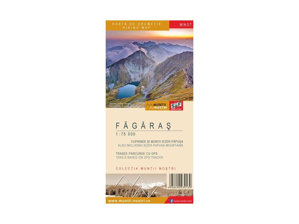 Fagaras Mountains 1:35t/75t /Munti Nostri