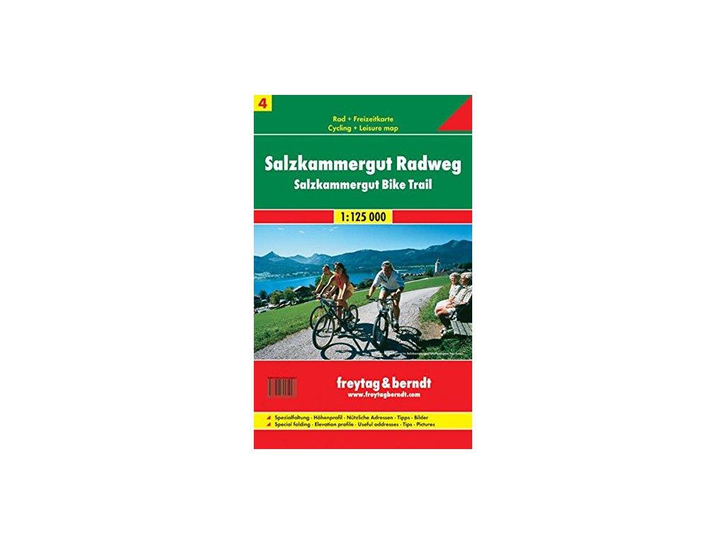 Salzkammergut Radweg 1:125t FB