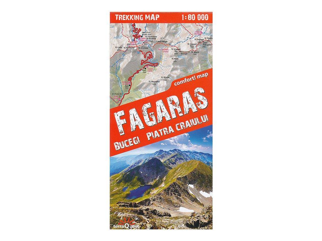 Fagaras,Bucegi,Piatra Cr./mapa 1:80t TQ