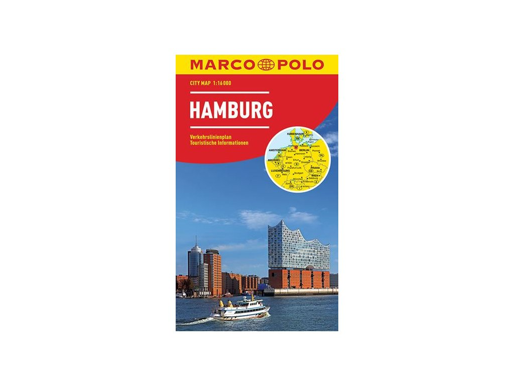 Hamburg MD, mapa  1:15tis.