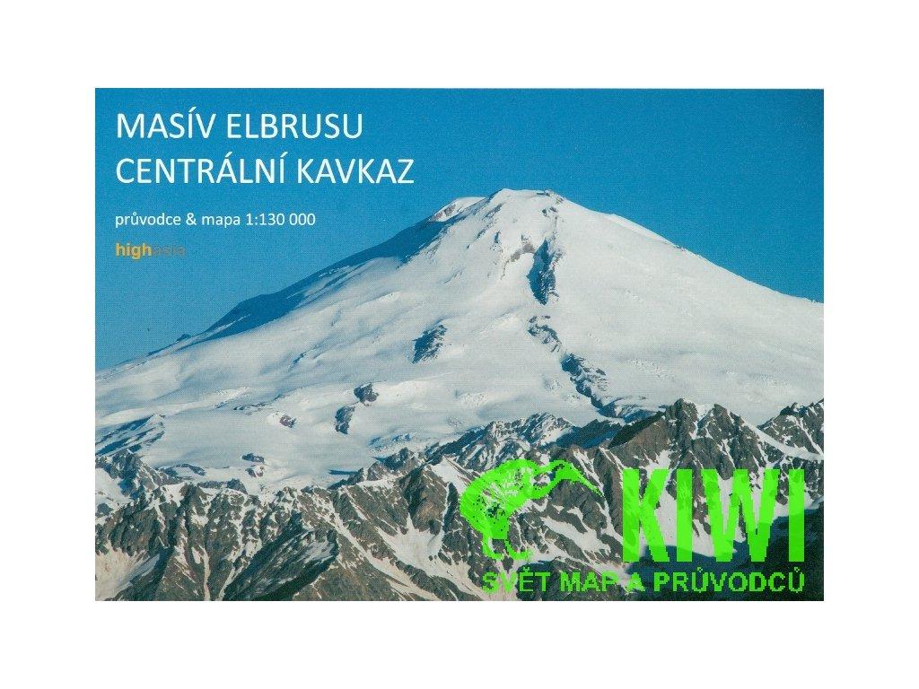 Masiv Elbrusu/mapa+prův. 1:130t Kleslo