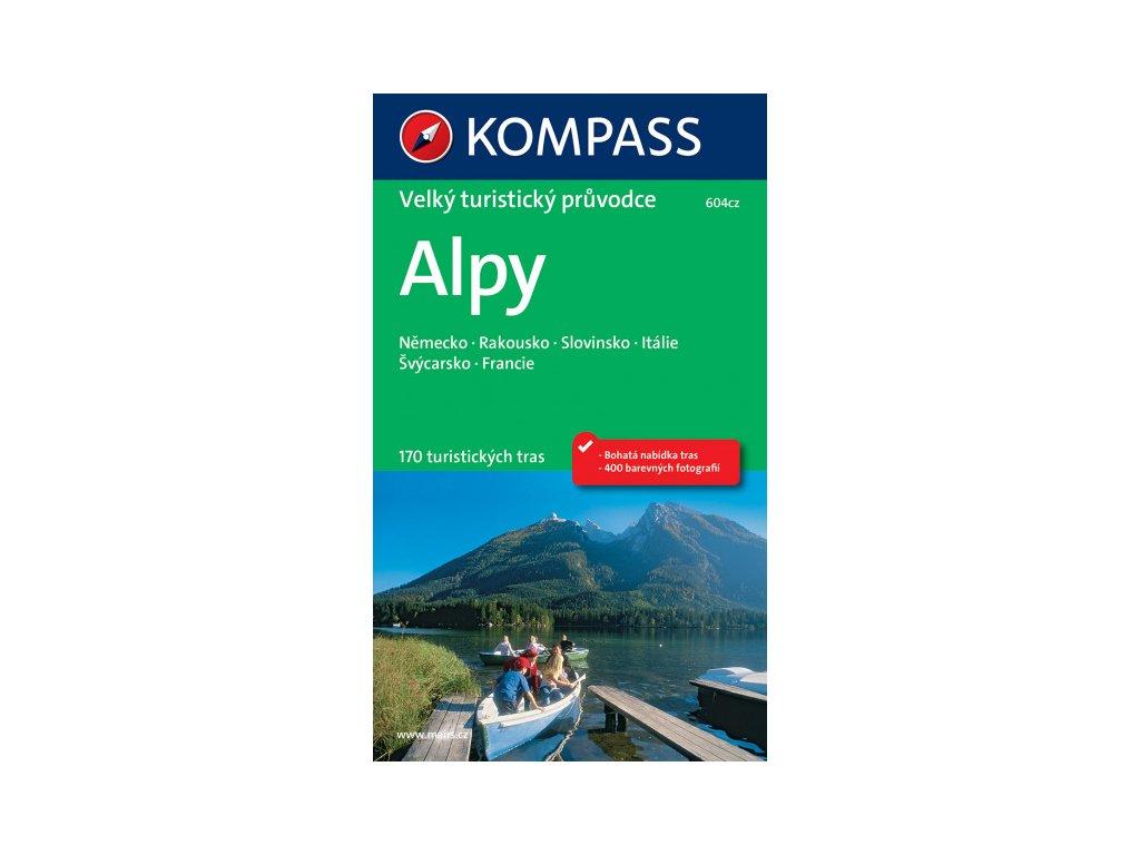 Alpy-velký tur.prův. + CD NKOM
