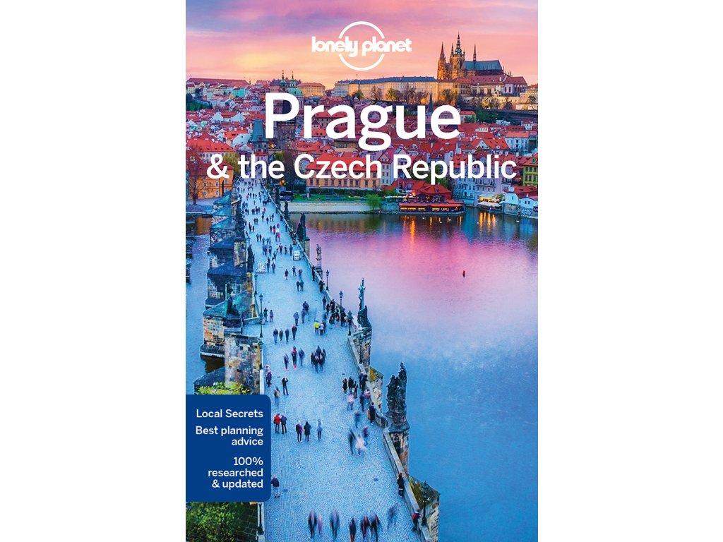 Prague+Czech rep./průvodce LP anglicky
