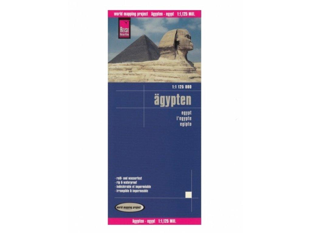 Egypt / mapa 1:1,25M RG synt.papír