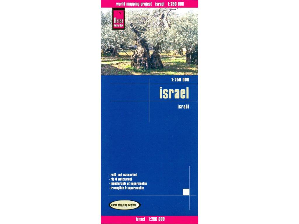 Izrael /mapa 1:250t RKH