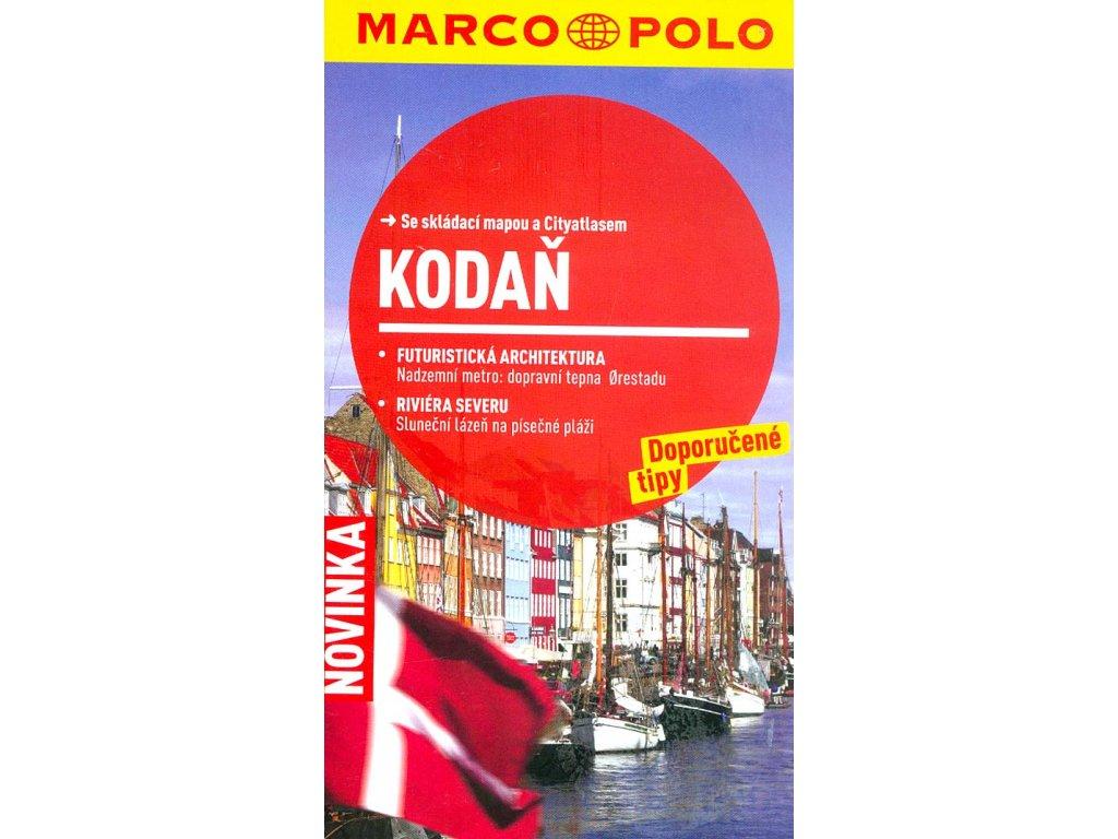 Kodaň /cest.prův. s mapou MD
