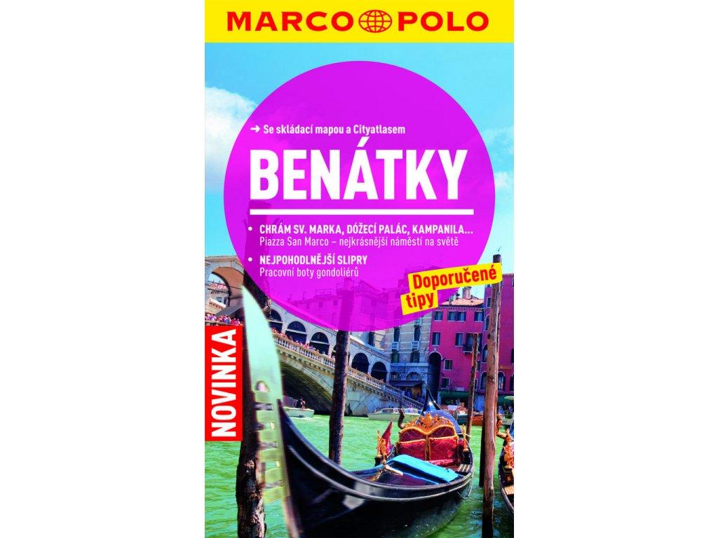 Benátky / cest.průvodce s mapou MD