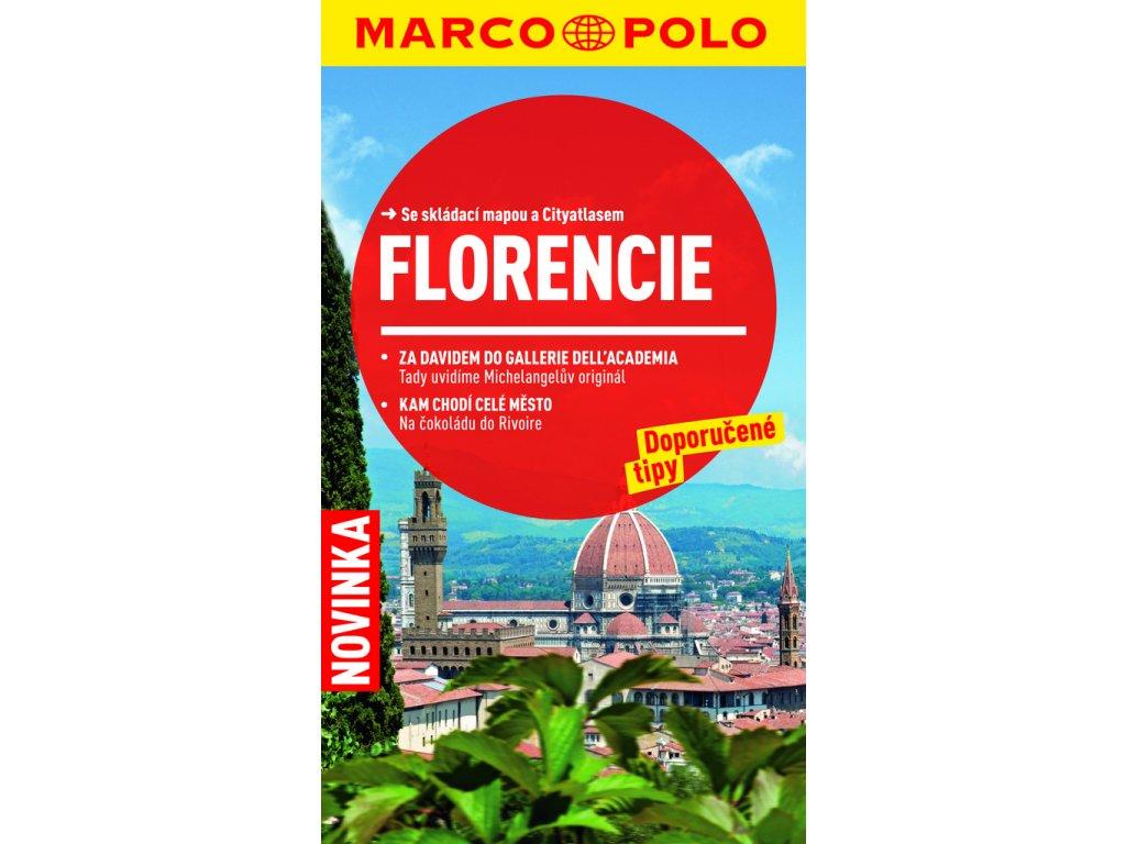 Florencie/cest.průvodce s mapou MD