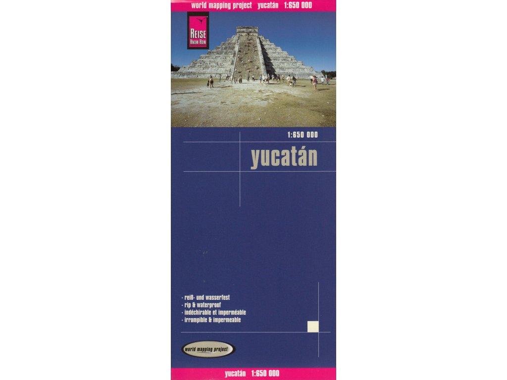 Yucatan,mapa 1:650tis. RKH