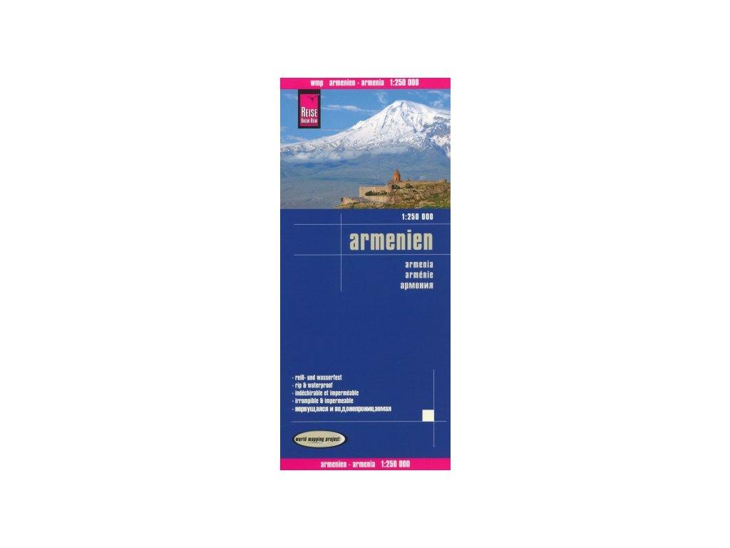 Arménie/mapa 1:250t RKH voděodolná