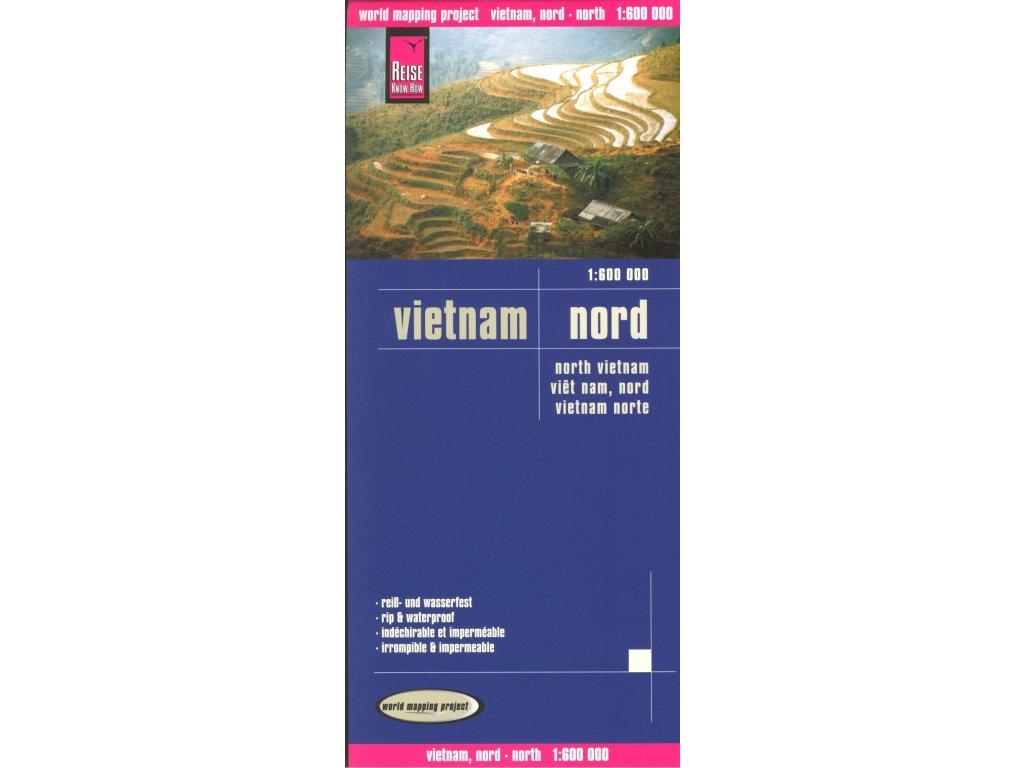 Vietnam sever/mapa 1:600t ReiseKH
