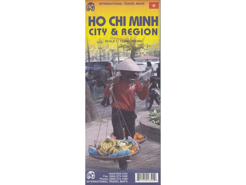 Ho Chi Minh City & Region,  mapa  1:15t ITM