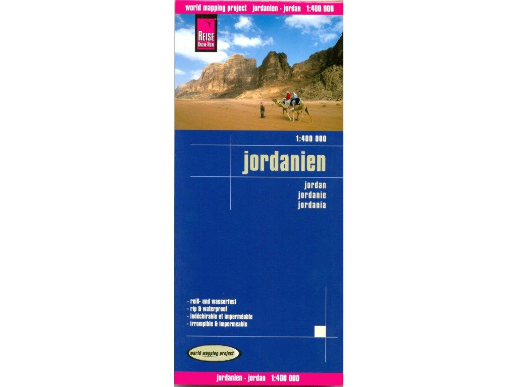 Jordánsko,mapa 1:400t RKH