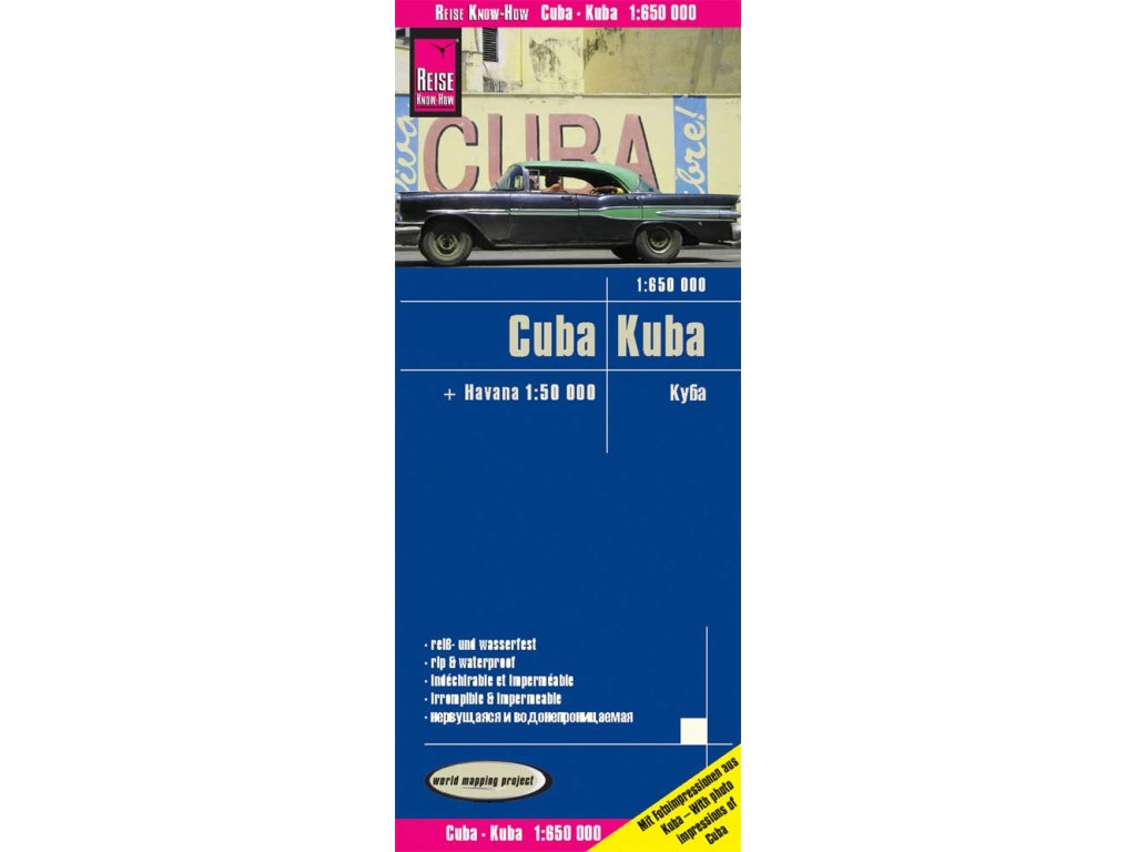 Kuba/mapa 1:850t RKH