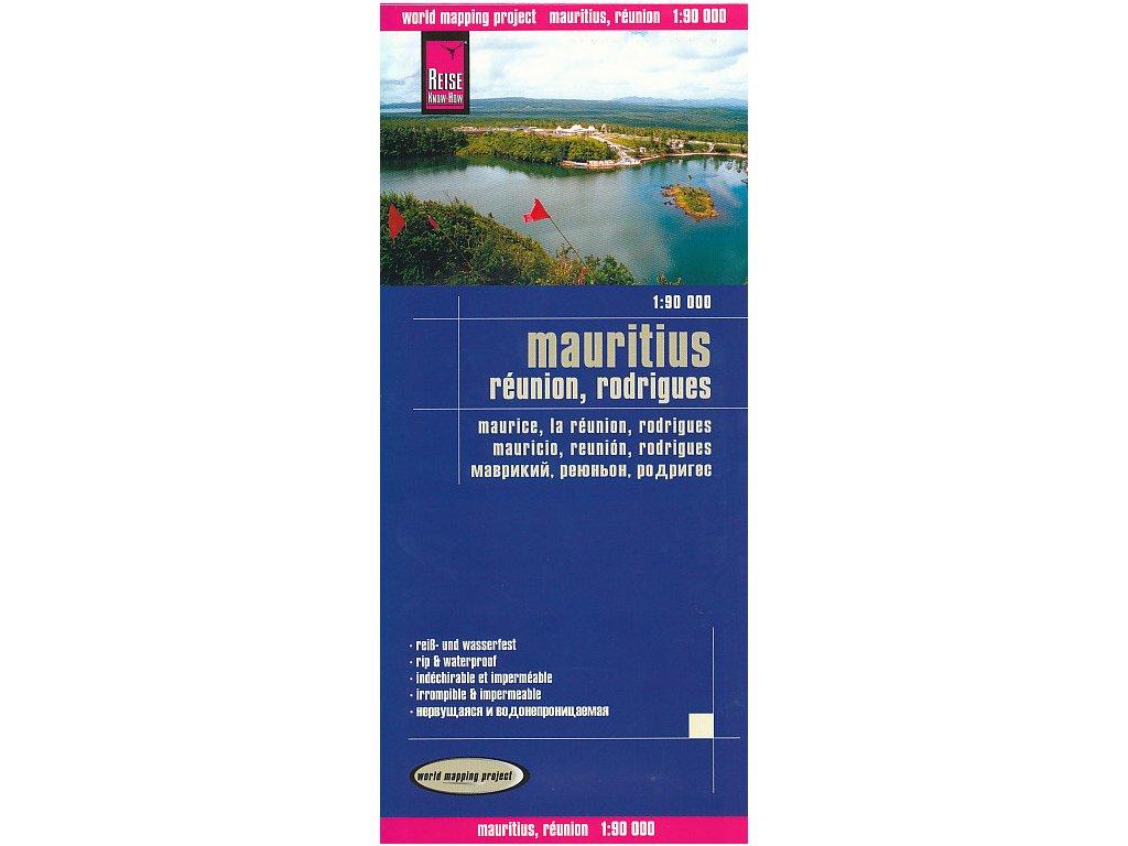 Mauricius Reunion Rodrigez/mapa 1:90t RKH