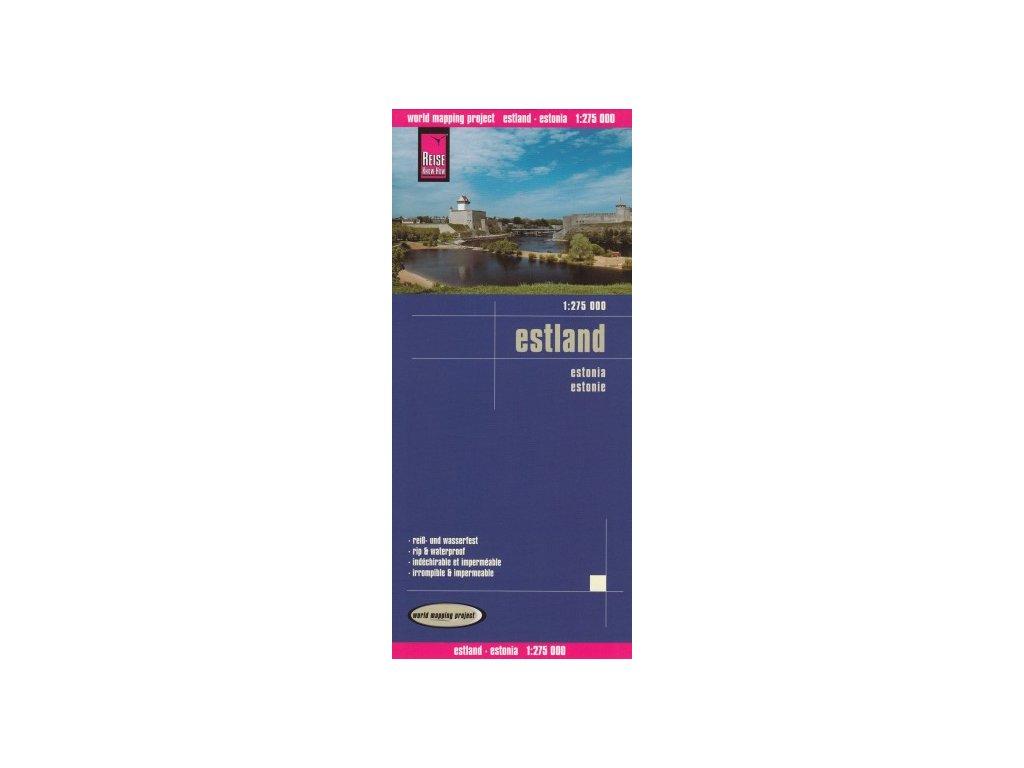 Estonsko /mapa 1:275t RKH voděodolná