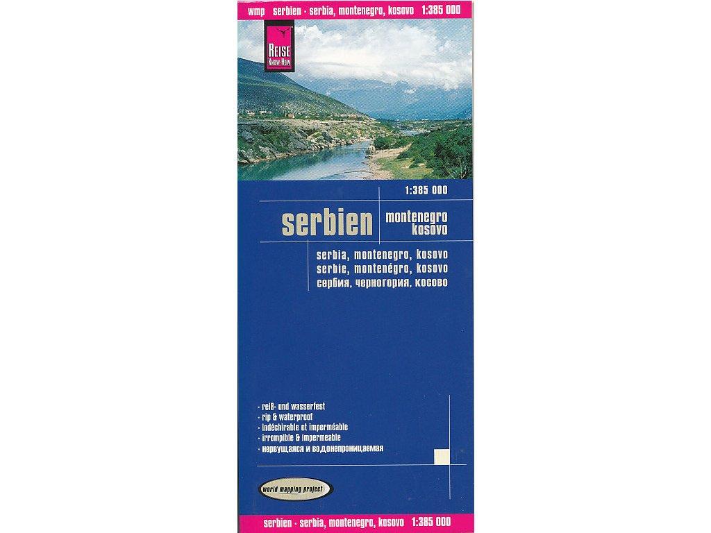 Srbsko,č.Hora,Kosovo/mapa 1:385t RKH