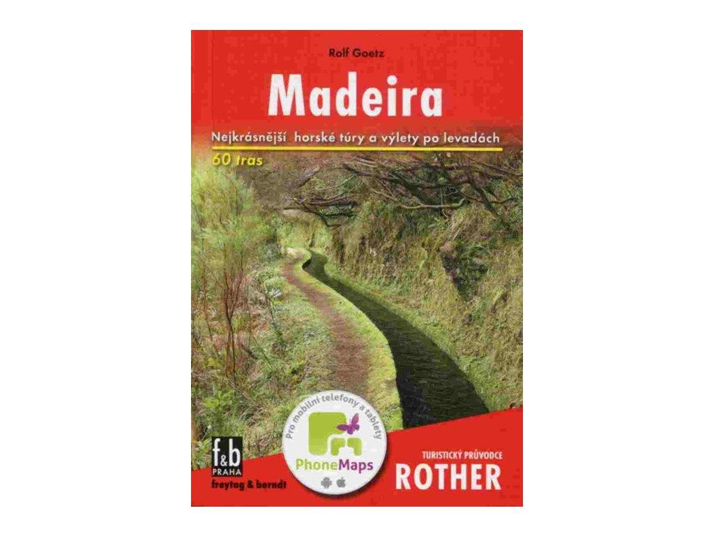 Madeira průvodce Rother