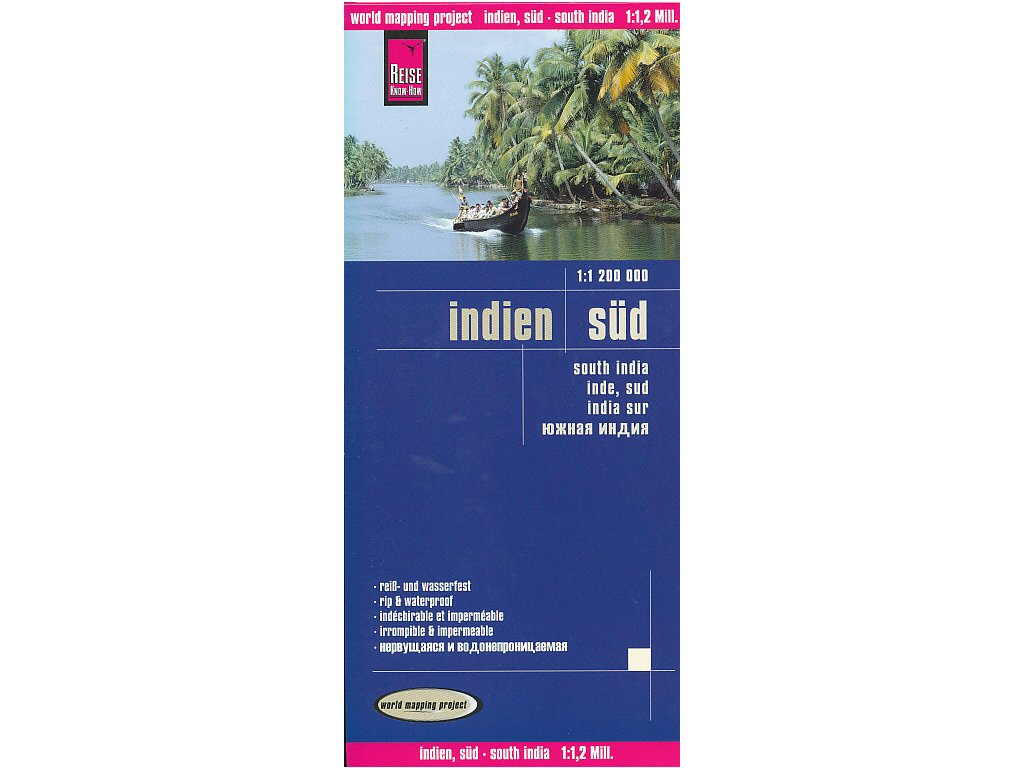 Indie jih,mapa 1:1.2mil. RKH