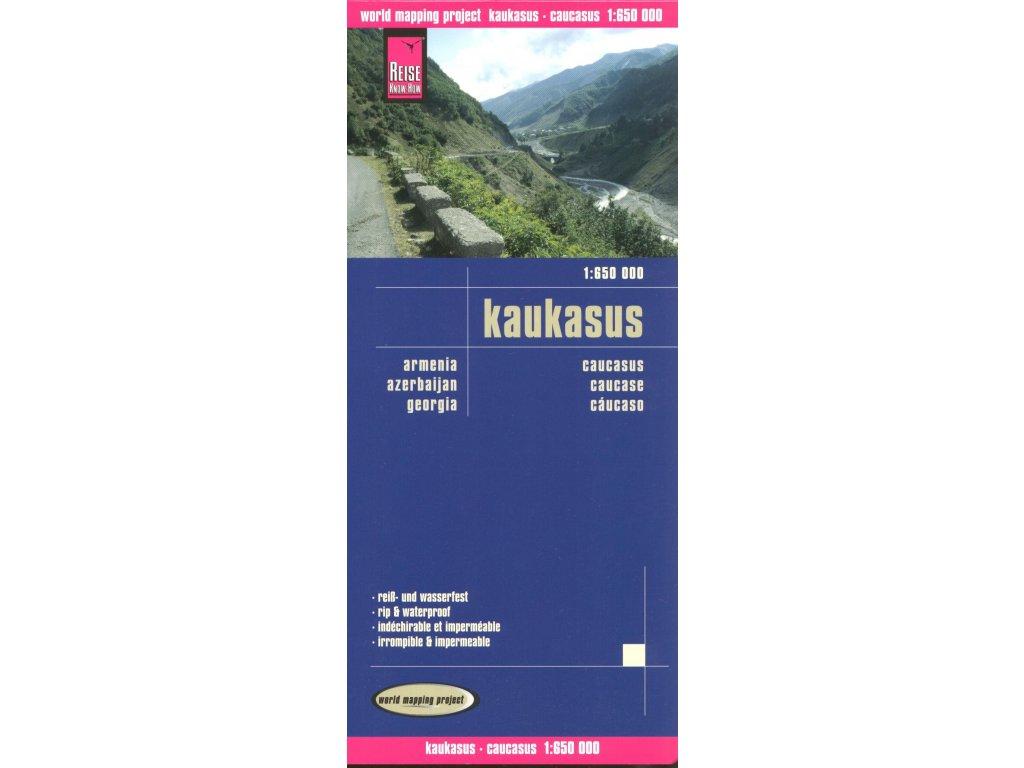 Kavkaz/mapa 1:650t RKH voděodolná
