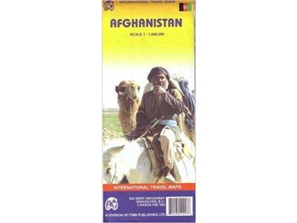 Afghanistan  mapa 1:1mil. ITM