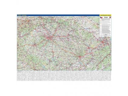 ČR - automapa, nást. mapa 5. vydání