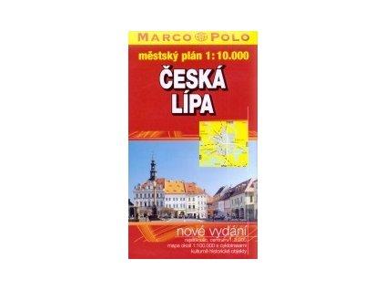Česká Lípa/plán,  mapa  1:10t VKÚ (MP)