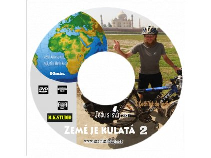 Země je kulatá DVD - Martin Kolaja