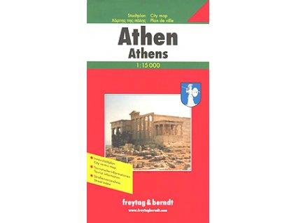 Athény  plán, mapa  FB  1:12T