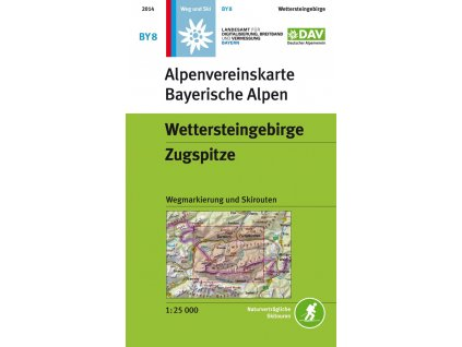 AV BY8 Wettersteingebirge Zugspitze