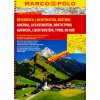 Rakousko, Lichtenštejnsko, Tyrolsko MP 1:200tis. atlas