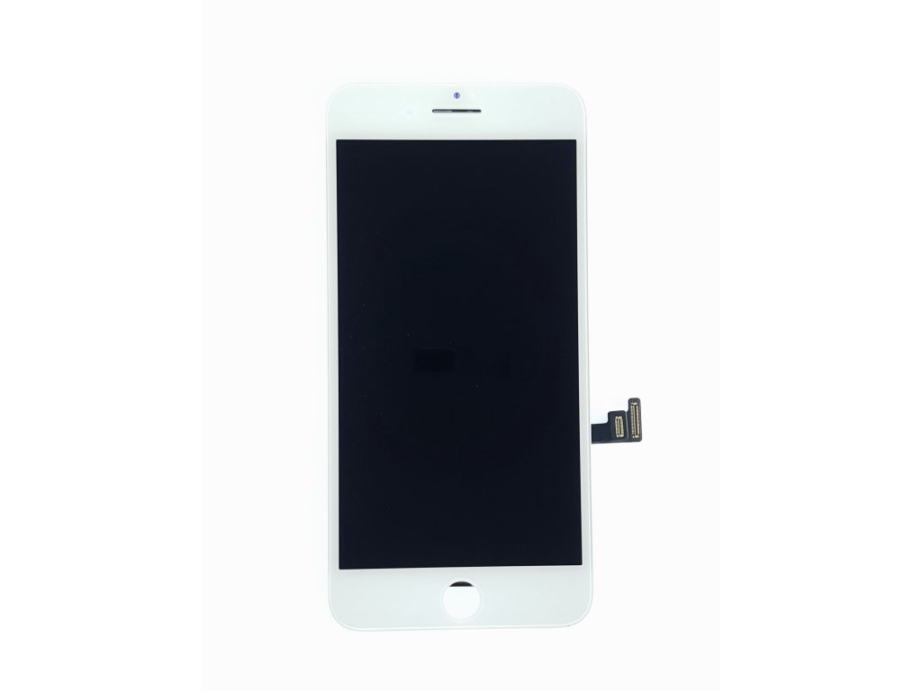 LCD panel + dotykové sklo (touch screen digitizér) pro  Iphone 7 Plus OEM bílý