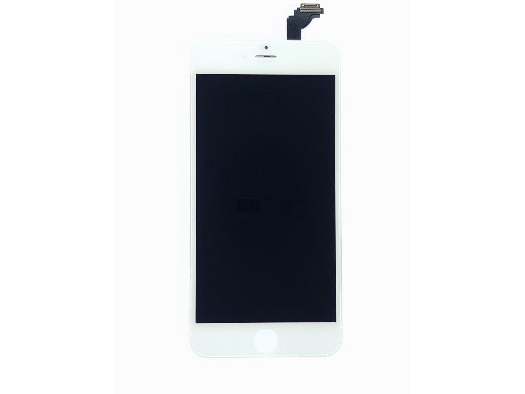 LCD panel + dotykové sklo (touch screen digitizér) pro  Iphone6 Plus OEM bílý